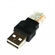 넷메이트 NETmate AM to RJ45 USB 젠더